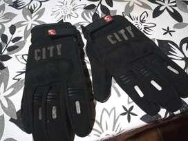 Guantes para moto madbike city talle xl