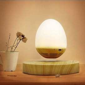 Parlante Bluetooth Lámpara Led Levitación Magnética