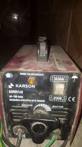 Máquina eléctrica para soldar