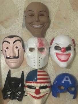 Mascaras hallowen