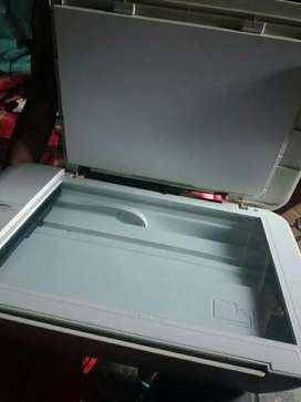 Impresora blanca hp