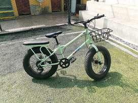 Fat bike bicicleta llanta ancha