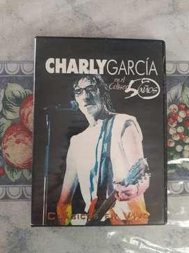 Charly Garcia En El Coliseo 50 Años DVD Original