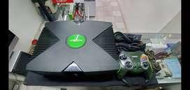 Xbox clásico control y cables