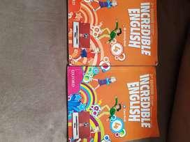 Libros de inglés Incredible English 4