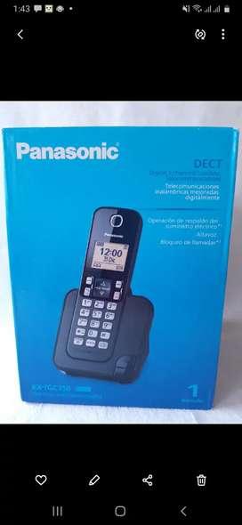 Teléfono inalambrico marca Panasonic NUEVO con alta voz