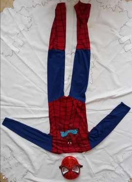 Disfraz spider man niño 3 - 4 años