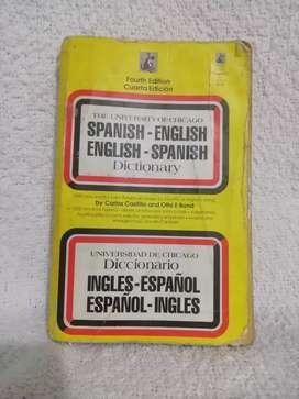 Diccionario español - inglés de bolsillo (usado)