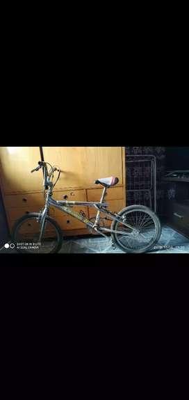 Bicicleta con cambio y GT
