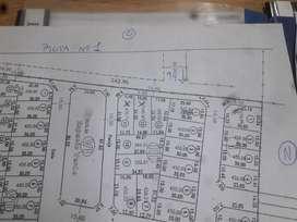 Terreno en Arroyo leyes calle 92 este