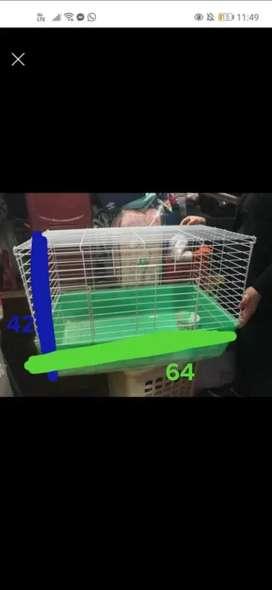 Casa rejita para conejos o animales