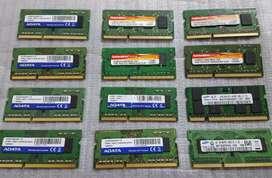 RAM DDR3 VARIOS MUDELOS PC PORTÁTIL LEER
