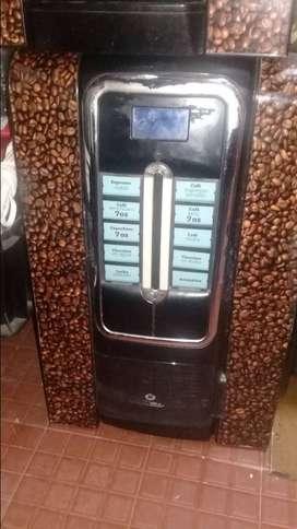 Maquina dispensadora de cafe