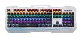 TECLADO MECÁNICO GAMER METÁLICO RETROILUMINADO teclados mecánicos retroiluminación ENVÍO GRATIS
