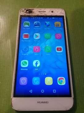 Huawei y6 libre detalle como se ve