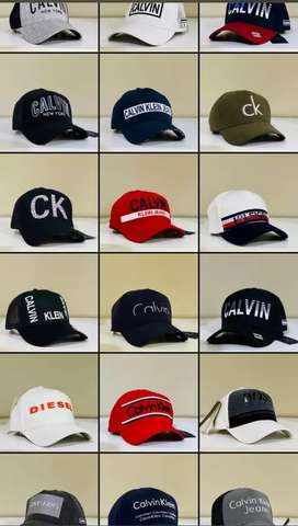 Gorras marca Calvin Klein mujer hombre tommy Hugo Boss hombre mujer