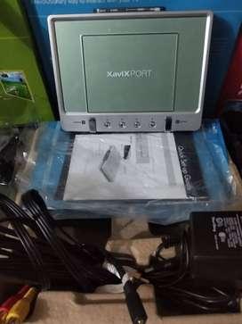 Consola marca xavix con 4 juegos