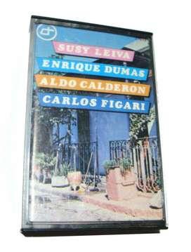 Cassette Tango Susy Leiva Enrique Dumas Aldo Calderon Figari