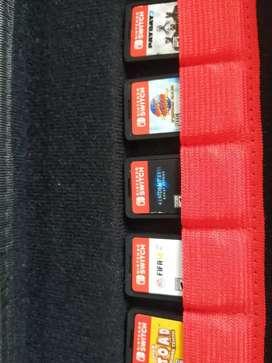 Se vende nintendo switch en excelente estado con 6 juegos, se entrega solo la consola con sus juegosby cargador lriginal