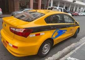 Kia río taxi ejecutivo