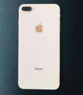 Vendo iphone 8 plus gold de 256 gb