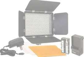 Luz Led 330 Lampara Led Vidpro Para Canon Nikon Sony Lumix
