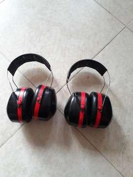 Copas protección auditivas