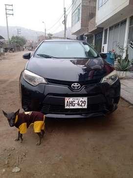 Vendo auto Toyota corolla ,transmisión mecánica 100% operativo.