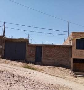 Se vende Terreno de 200 m2  Semi Construido en Horacio Zeballos Socabaya