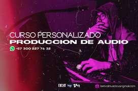 Curso personalizado producción de Audio