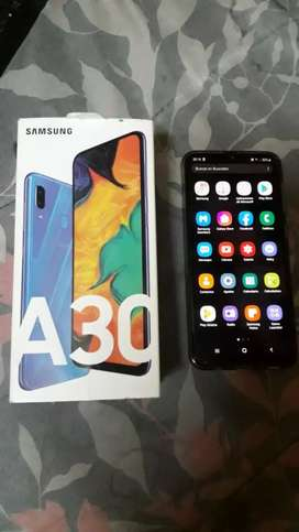 Vendo Samsung A30 libre 1mes de uso