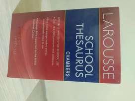 Larousse school thesaurus