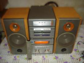 Minicomponente Sony Str Nx1 C/ctrl Rem Orig Sonido Profesion
