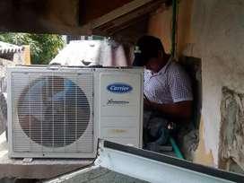 Lavadora secadora aire acondicionado nevera calentador estufa horno