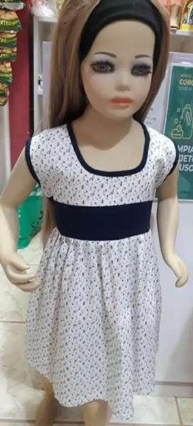 Vestidos tela niñita talla 4