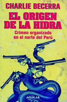 El Origen De La Hidra - CHARLIE BECERRA - Libro Original, Sellado