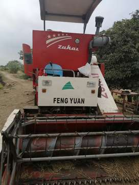 Vendo maqina cosechadora de arroz