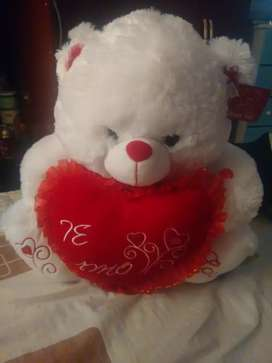 Hermoso oso para San Valentín