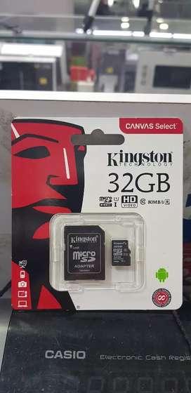 Memoria micro 32gb clase 10 kingston
