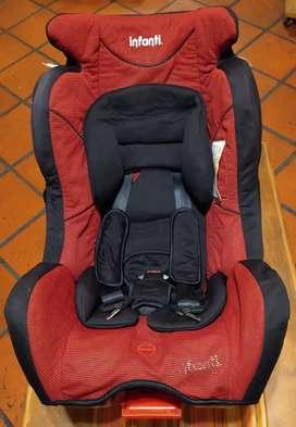 Butaca infantil para auto Infanti Barletta S500 red
