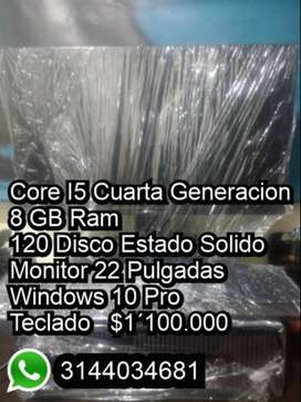 Core i5 Cuarta Generacion 8gb Ram Disco Solido