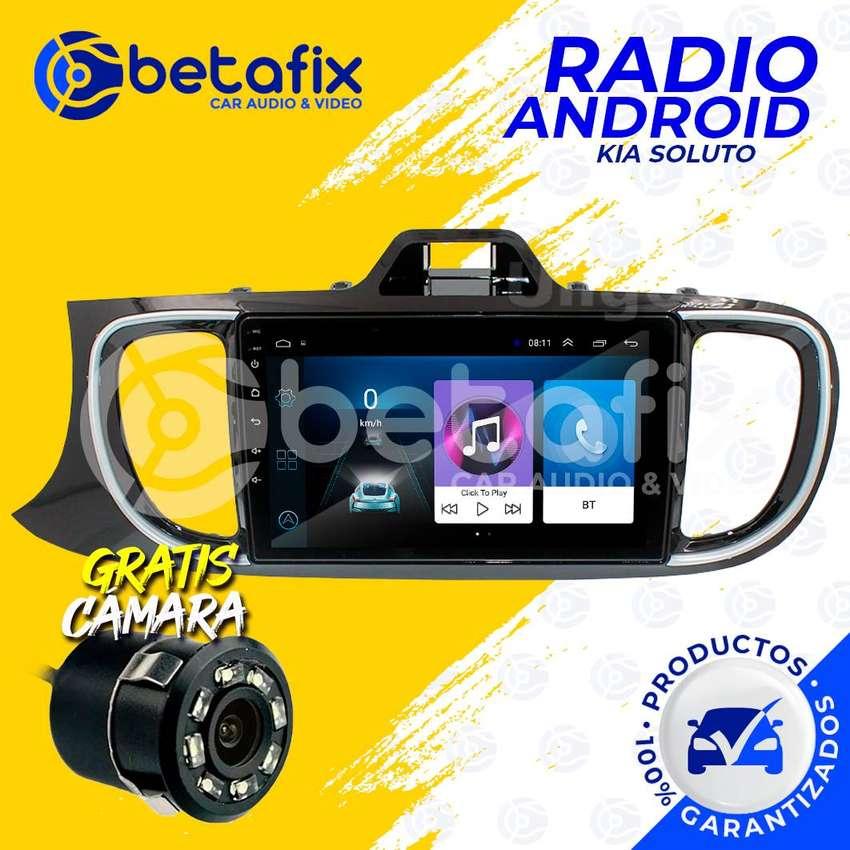 RADIO ANDROID KIA SOLUTO 2020 GPS BT USB WIFI BETAFIX DESDE