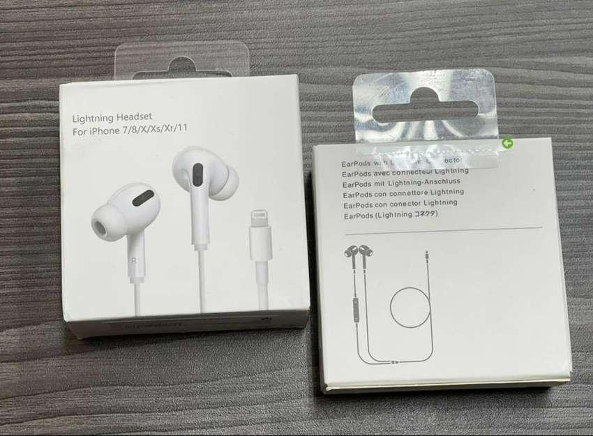 Cable Del Auricular Manos Libres iPhone 7-8 X Xr Xs Originales