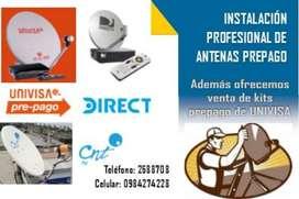 Instalación Profesional Antenas Prepago