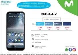 Venta de contado Nokia 4.2