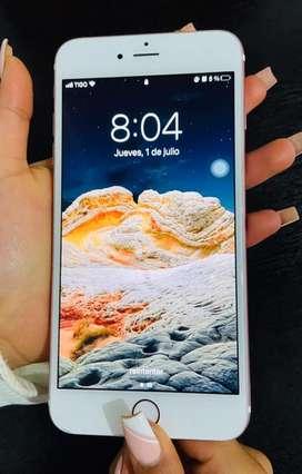 iPhone 6s plus oro rosa en perfecto estado 9/10 condicion de bateria 100% unico dueño Excelente estado
