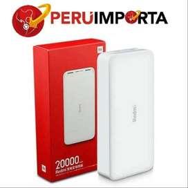 Xiaomi Power Bank 20000 Nuevo Garantia 1 año