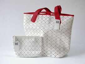 Bolsa Grande Tote Bag Saks Fifth Avenue. Importada U.S.