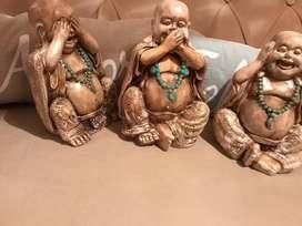 Budas Sabios De Cerámica. Hacemos Envíos