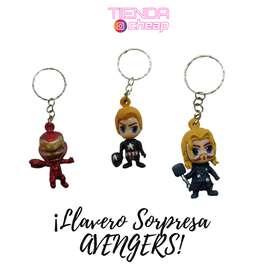 Llavero Sorpresa Super Heroes